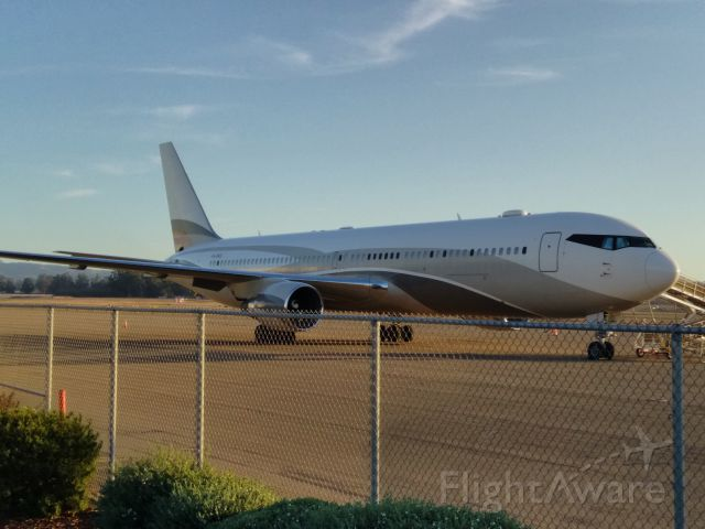 BOEING 767-300 (P4-MES) - Stopped by Santa Maria airport to take a couple pics of Tanker 911 and saw this beauty parked behind her.