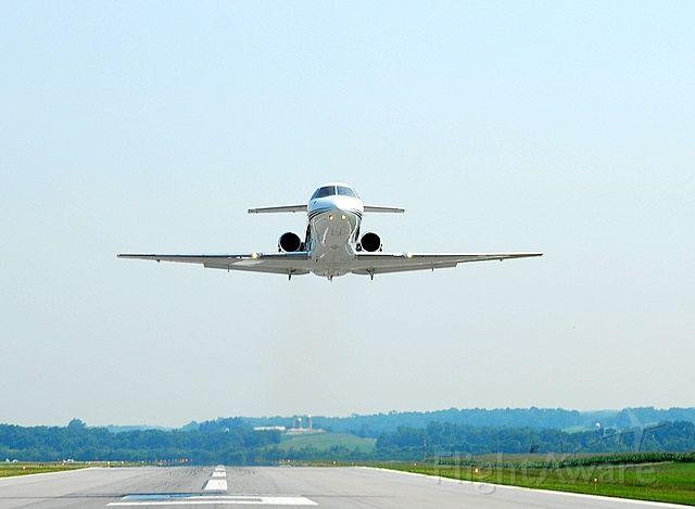 N333PC — - Departing Runway 23 KFDK