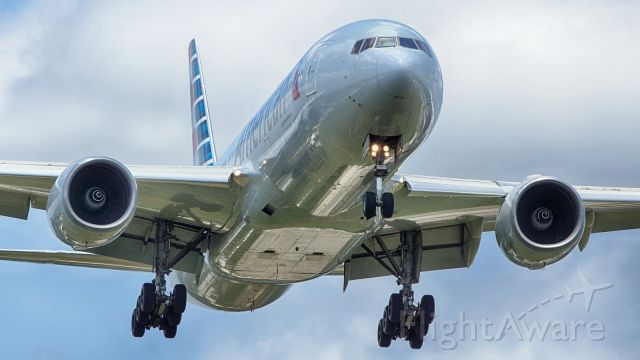Boeing 777-200 (N770AN) - 13R approach,<br />May 8,2021