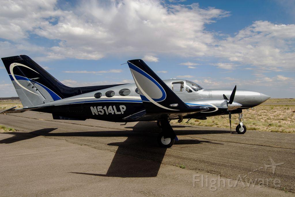 Cessna Chancellor (N514LP) - New paint job!