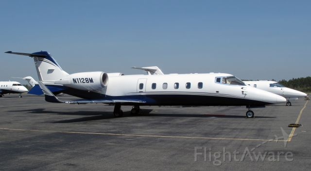 Learjet 60 (N1128M) - A very fast and powerful aircraft.