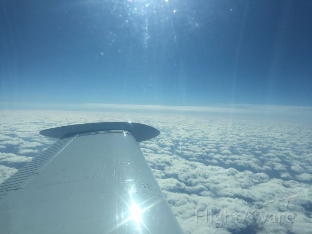 Beechcraft Bonanza (36) (N4203S) - Over KS at 24,000ft on the way to CO in a 1976 A36