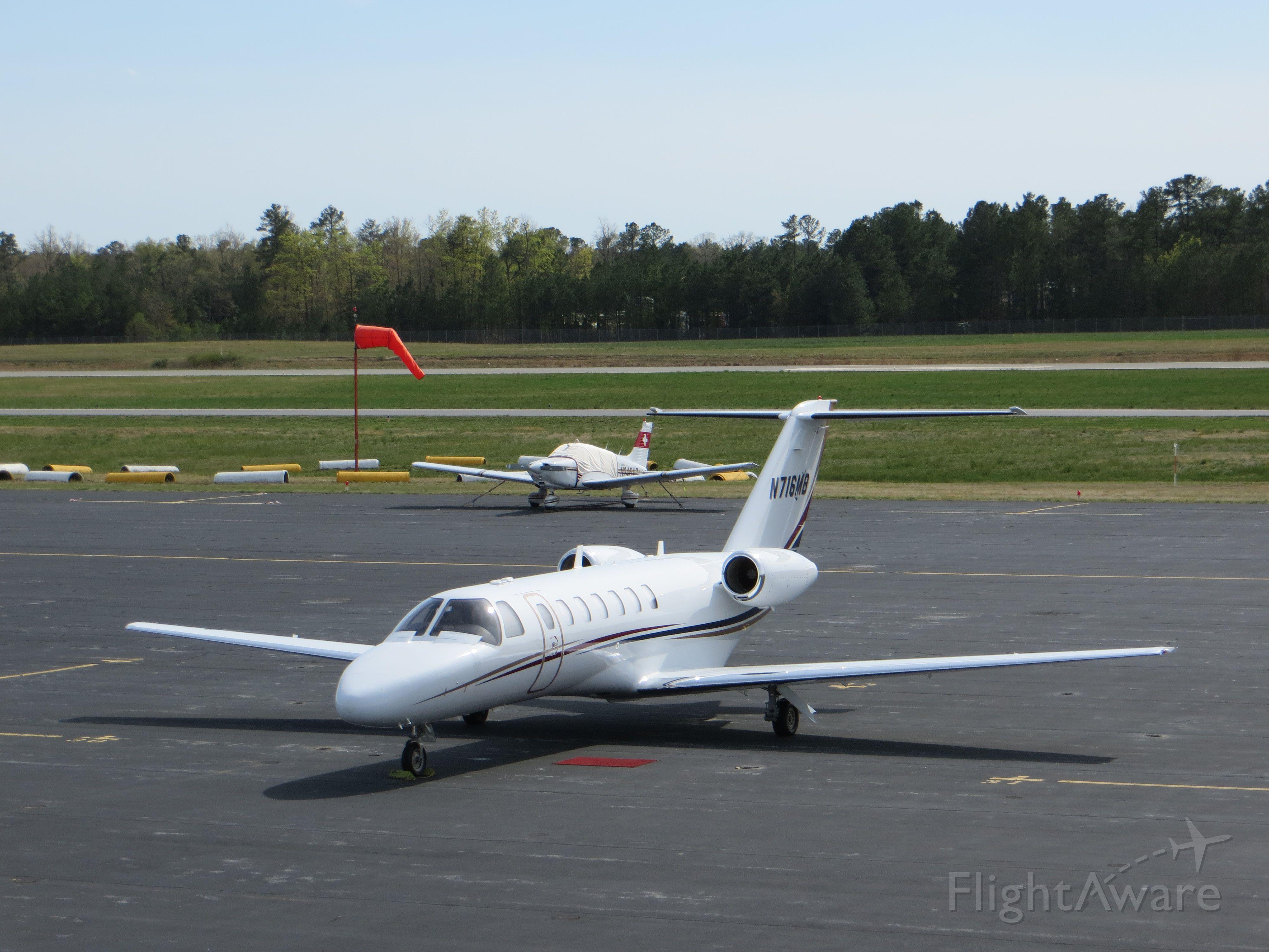 Cessna Citation CJ3 (N716MB)