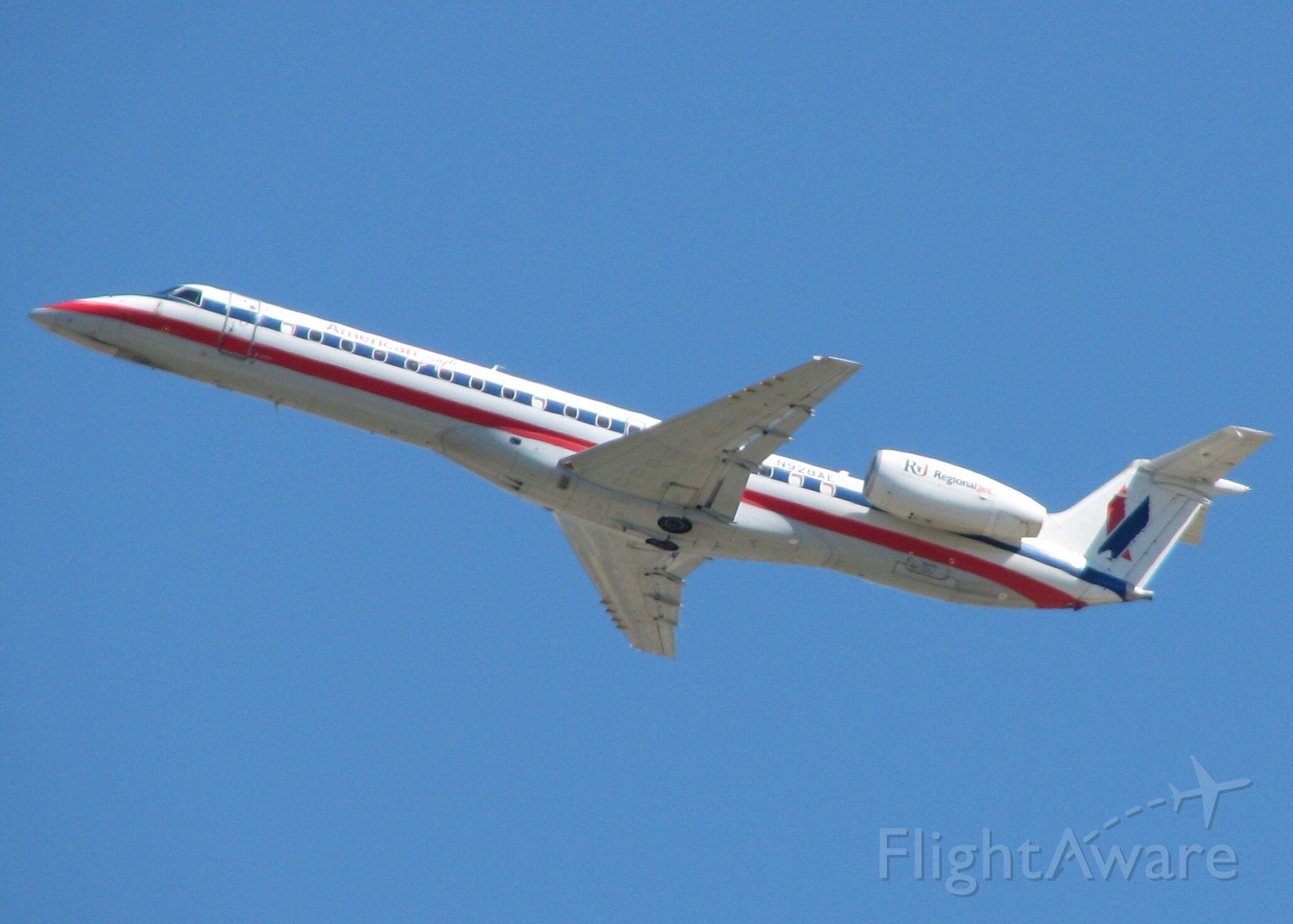 Embraer ERJ-145 (N928AE) - At DFW.