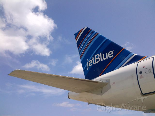 Airbus A320 (N621JB) - jetBlue airways parking at Stand #8 @Puerto Plata Intl. Airport