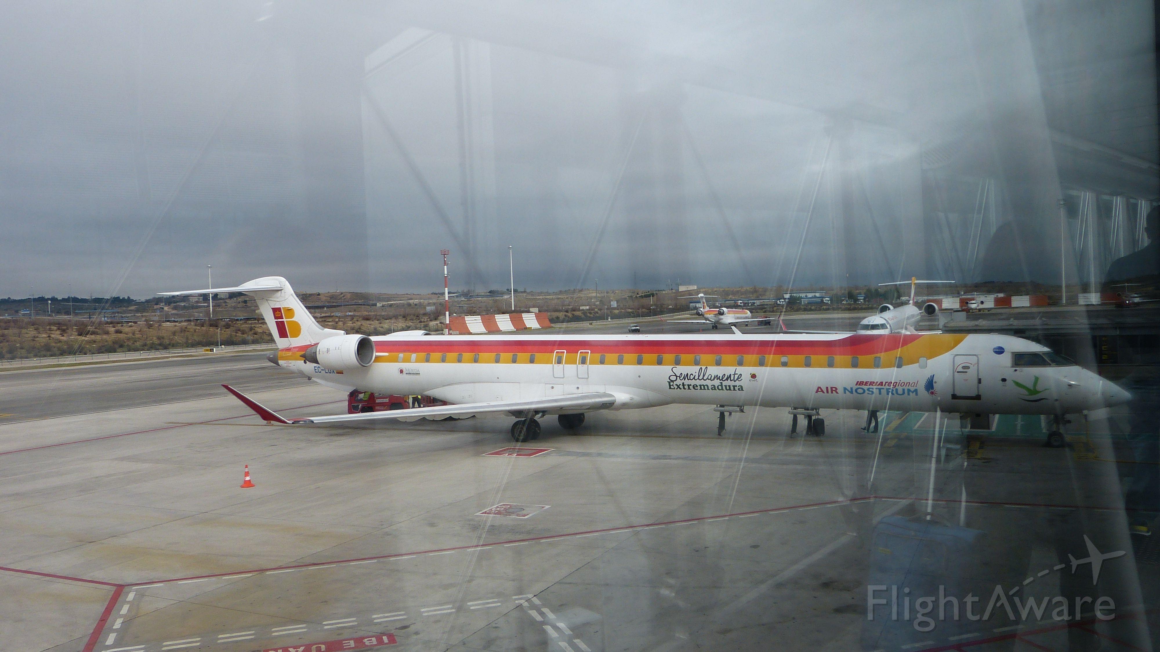 Canadair Regional Jet CRJ-100 (EC-LOX) - Heading out to Almeria