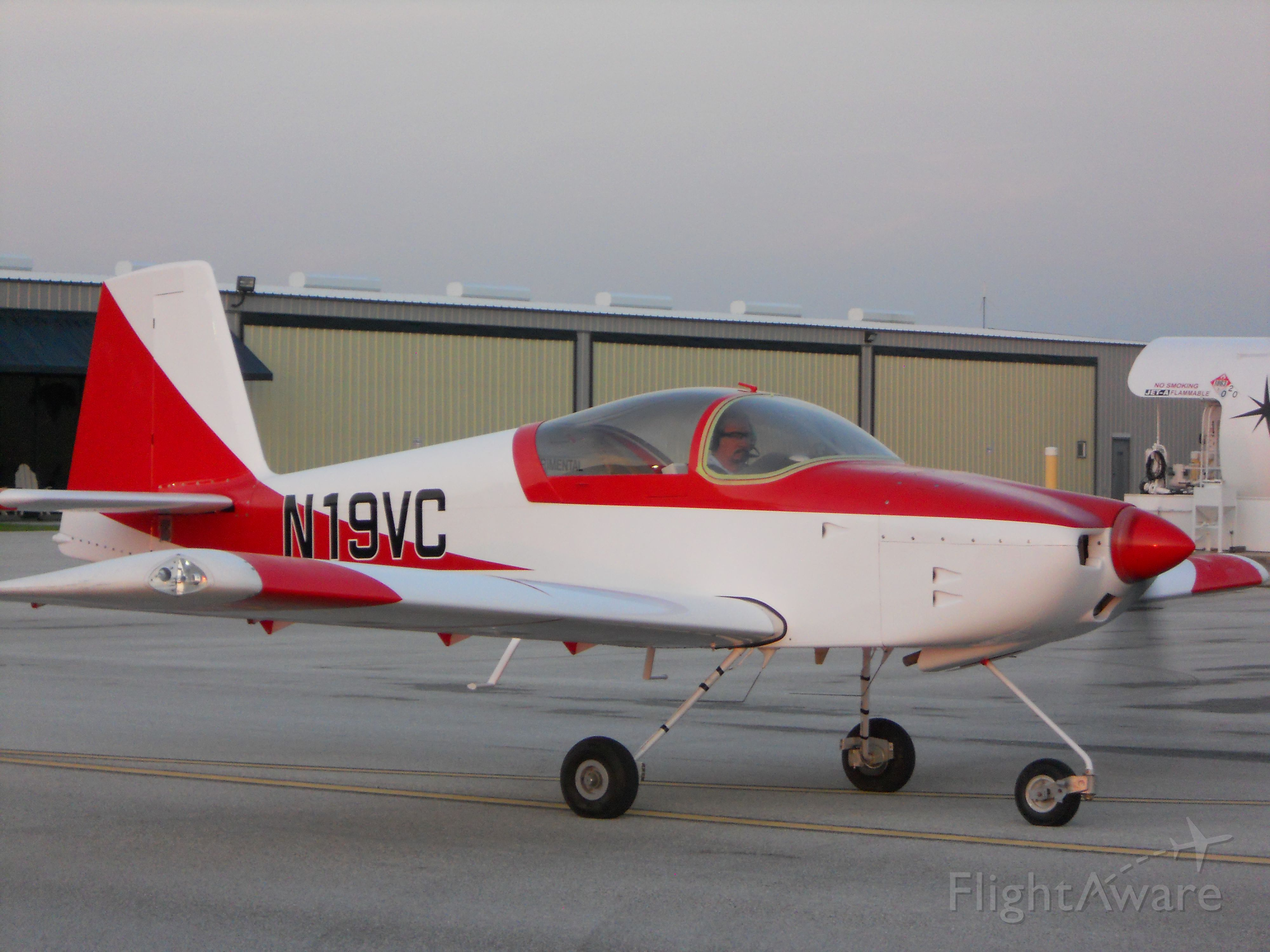 N19VC — - Aug 2, 2011, 7AM, First Flight foto