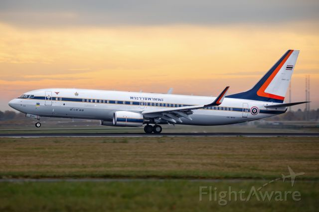 Boeing 737-800 (HS-MVS)