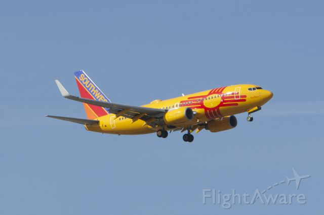 """Boeing 737-700 (N781WN) - My first catch of Southwest Airlines """"New Mexico 1"""""""