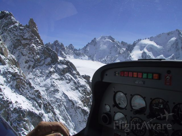 HB-KFE — - Mountain flying in the Swiss Alps, challenging but fun. Reaching 11,000ft in the Robin DR-500.