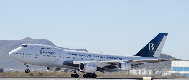 Boeing 747-200 (N787RR) - 01/18/2014