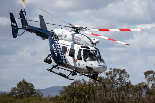NUSANTARA NBK-117 (VH-WAH) - MBB-Kawasaki Heavy Industries MB117 B-2 VH-WAH Western Australian Police Serpentine (YSEN)Sep 2016