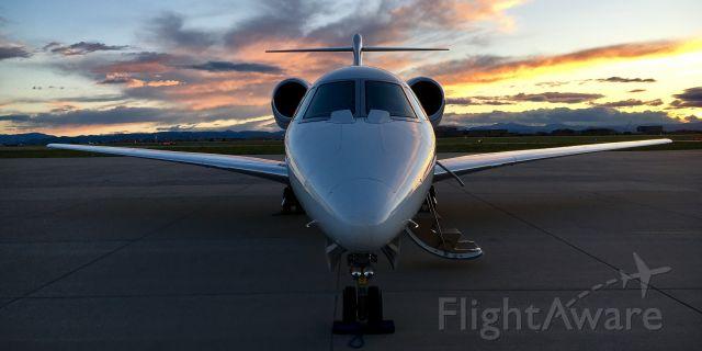 Cessna Citation X — - Modern-Aviation ramp