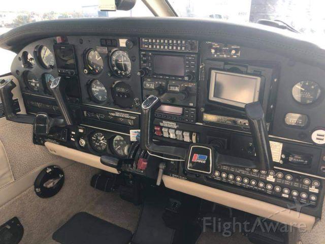 Piper Arrow 4 (N8378B) - Upgraded avionics.