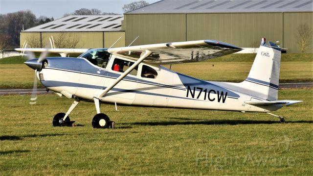 Cessna Skywagon 180 (N71CW) - Cessna 180 E