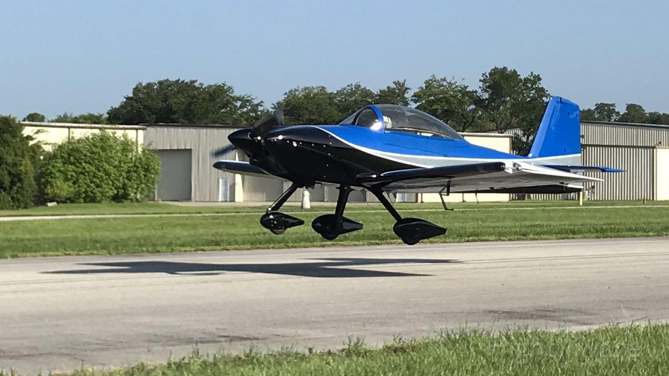 Vans RV-8 (N595AD) - First flight June 24, 2019