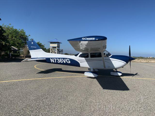 Cessna Skyhawk (N736VG) - N736VG rampa Montecristi Republica Dominicana.