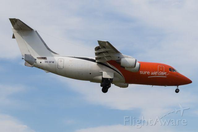 British Aerospace BAe-146-200 (VH-SFW)