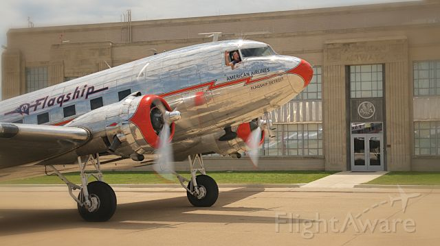Douglas DC-3 (N17334) - Flagship Detroit at AA Hangar