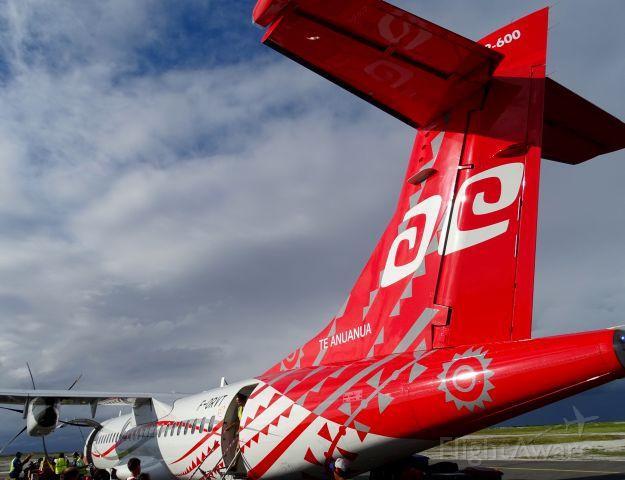 """Aerospatiale ATR-72-600 (F-ORVT) - """"Te Anuanua"""""""
