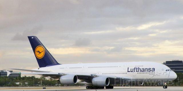 "Airbus A380-800 (D-AIMM) - Named""Delhi"""