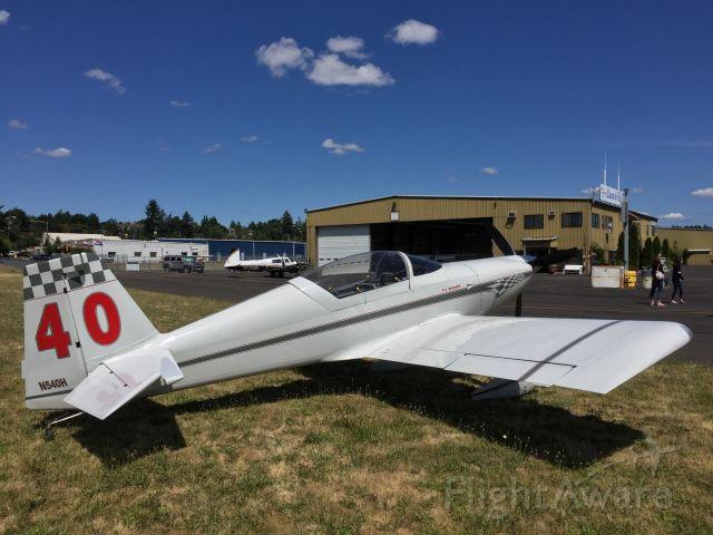 Experimental 100kts (N540H) - Pearson Field Airport KVUO