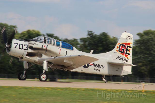 Douglas AD Skyraider (N65164)