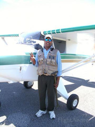 N4583Z — - rodney harris and the piper colt returning from a flight  notice the towbar