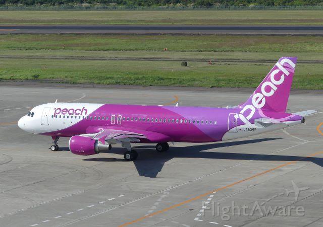 Airbus A320 (JA826P) - Sendai(SDJ) 2019/09/27