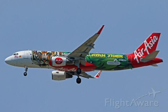 """9M-AQZ — - """"Save Our Malayan Tiger"""" livery"""