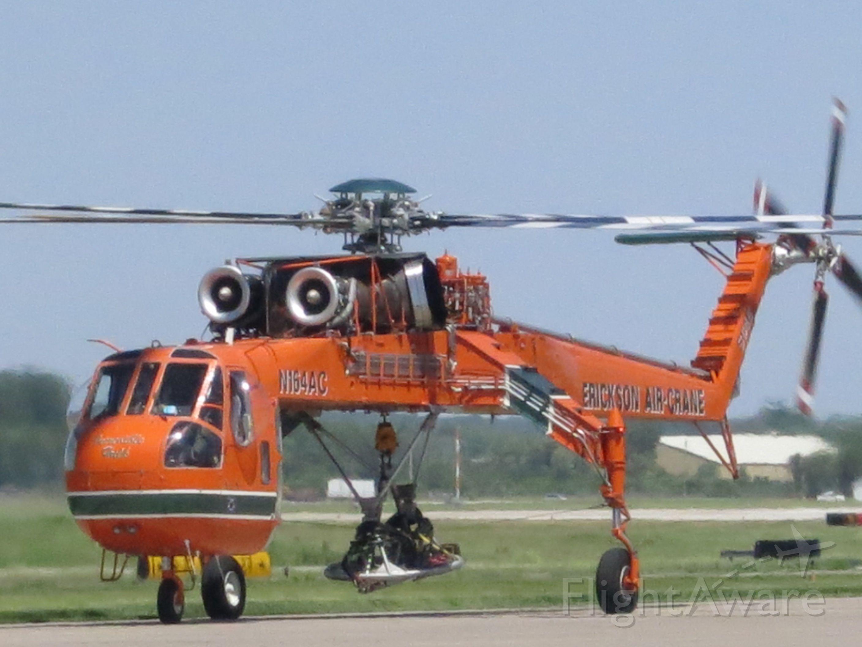 Sikorsky CH-54 Tarhe (N164AC) - Starting up before departure