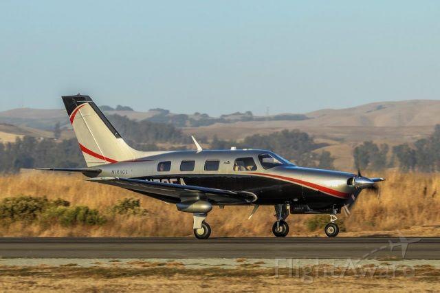 Piper Malibu Mirage (N795A) - Mirage Landed
