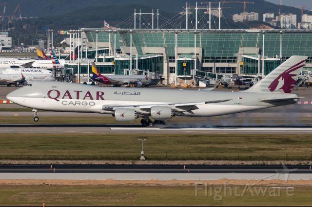 BOEING 747-8 (A7-BGA)