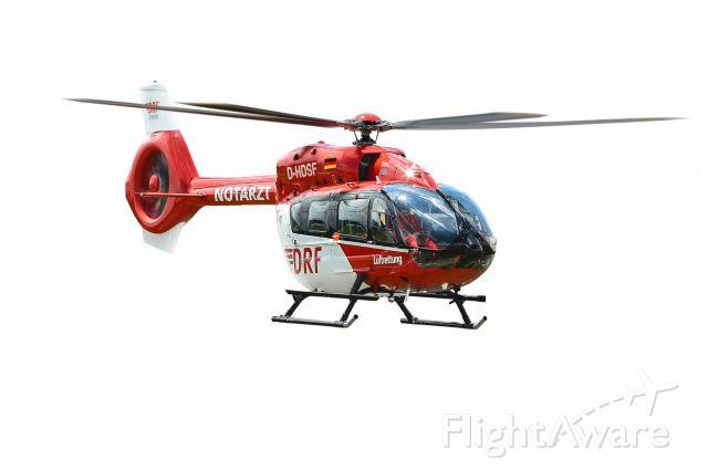 Eurocopter EC-635 (D-HDSF) - EC - H145   first flight !  (Quelle: DRF)
