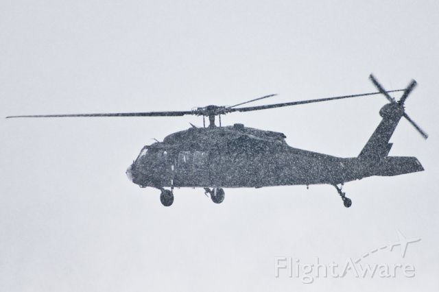 Sikorsky S-70 — - Pennsylvania National Guard doing maneuvers in some heavy snowfall.