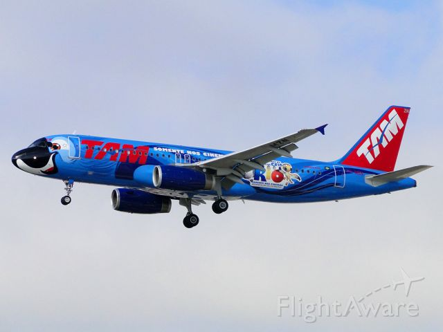 """Airbus A320 (PT-MZN) - Customized paint film """"RIO"""". Only in theaters! Or better ... Only in Matiz! hahaha. A homage to my best friend photographer Mauro Donati."""