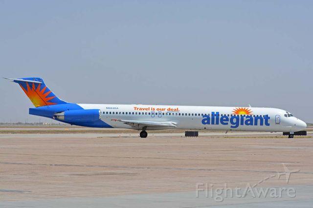 McDonnell Douglas MD-83 (N883GA) - Allegiant McDonnell Douglas MD-83 N883GA at Phoenix-Mesa Gateway Airport on April 15, 2016.