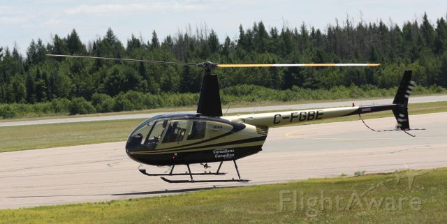 Robinson R-44 (C-FGBE) - Beautiful helicopter!