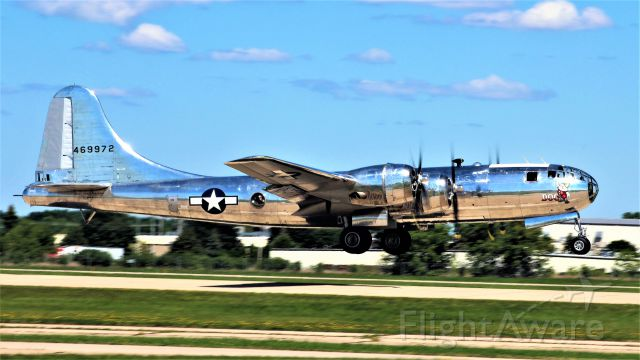 Boeing B-29 Superfortress (N69972) - Doc Beginning the Climb to Air Show Altitude