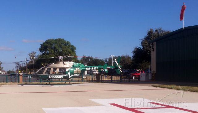Bell 407 (N518MT) - Shannon's Air Med 1