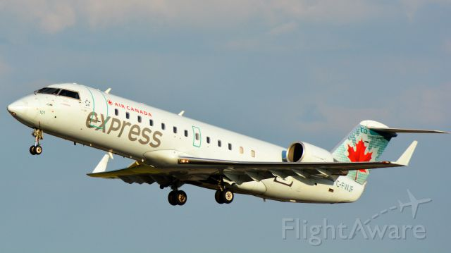 Canadair Regional Jet CRJ-100 (C-FWJF) - 7/10/19