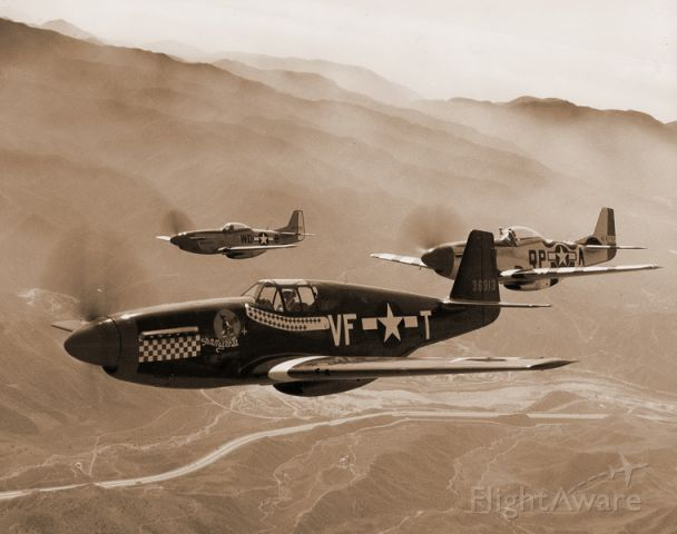 North American P-51 Mustang — - 4th Fighter Group