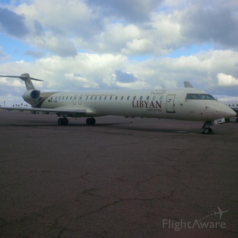 Canadair Regional Jet CRJ-900 (5A-LAM) - Libyan Airlines <br />CNS/ATM Unit <br />ICT Department