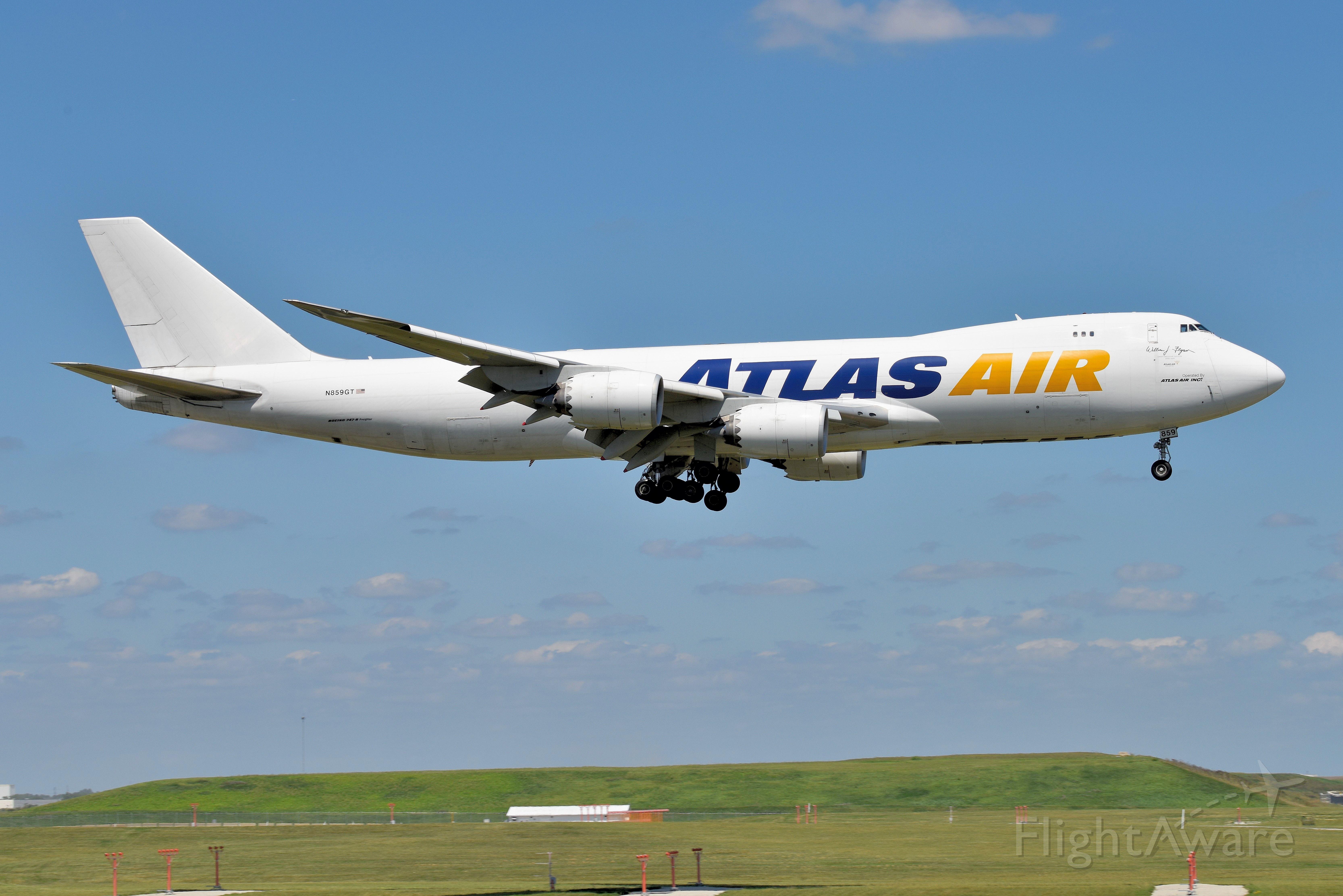 BOEING 747-8 (N859GT) - 10-C 08-16-21