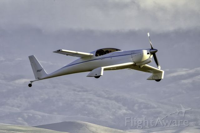 Diamond Star (N46JP) - Quckie Q-200 over Livermore Municipal Airport (CA). February 2021
