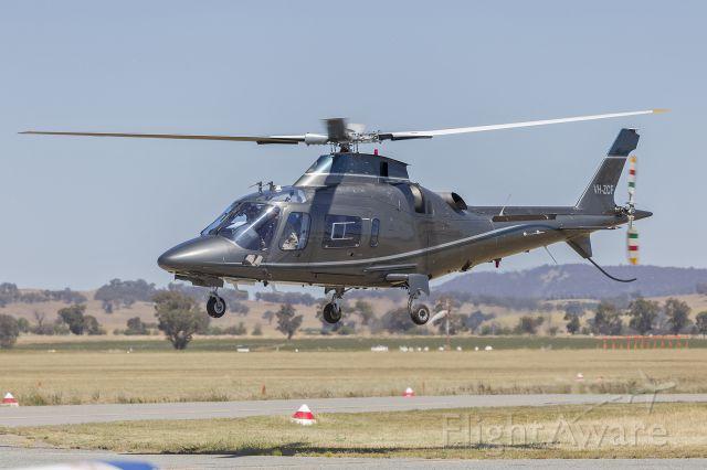 SABCA A-109 (VH-ZCF) - Flyon (VH-ZCF) Agusta A109E Power at Wagga Wagga Airport