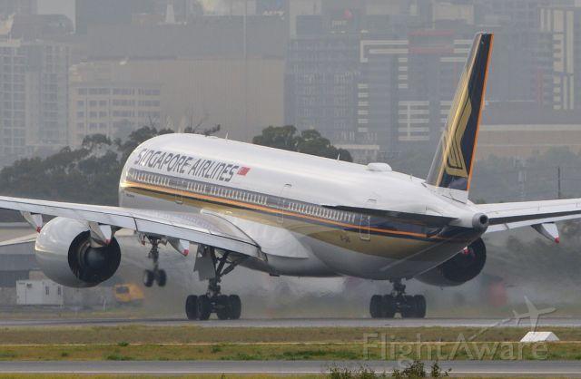 Airbus A350-900 (9V-SHD) - Adelaide, South Australia, June 17, 2020