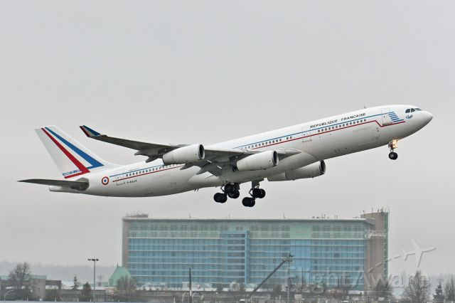 Airbus A340-200 (F-RAJA) - French Air Force