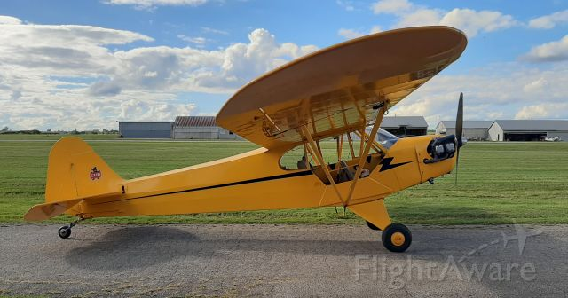 C-FNGQ — - Here is my little time machine... a 1945 Piper J3 Cub (J3C-65)