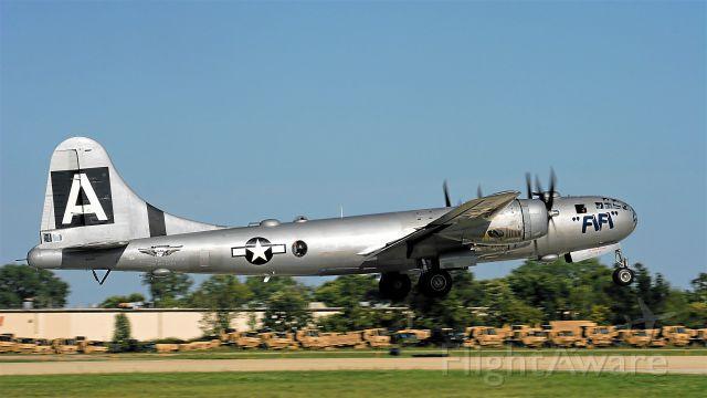 Boeing B-29 Superfortress (N529B) - Dramatic Take-off at Oshkosh by Fifi...............